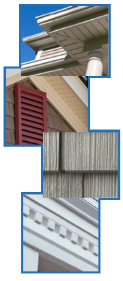 Siding and decking examples